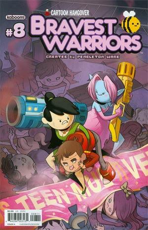 Bravest Warriors #8 Regular Cover A Tyson Hesse