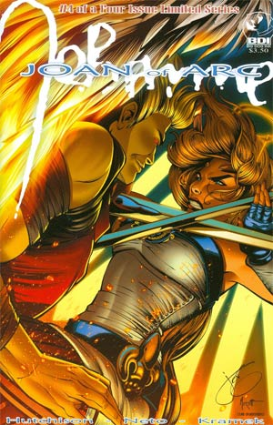 Joan Of Arc From The Ashes #4 Cover B Jenevieve Broomall