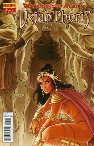 Warlord Of Mars Dejah Thoris #25 Regular Fabiano Neves Cover