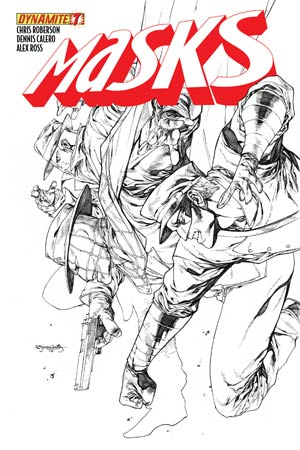 Masks #7 High-End Stephen Segovia Black & White Ultra-Limited Cover (ONLY 100 COPIES IN EXISTENCE!)