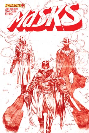 Masks #4 High-End Ardian Syaf Blood Red Ultra-Limited Cover (ONLY 25 COPIES IN EXISTENCE!)