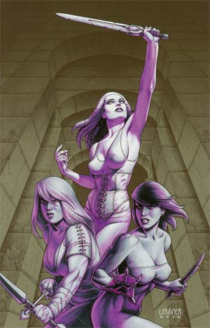 Damsels #7 Incentive Joseph Michael Linsner Virgin Cover
