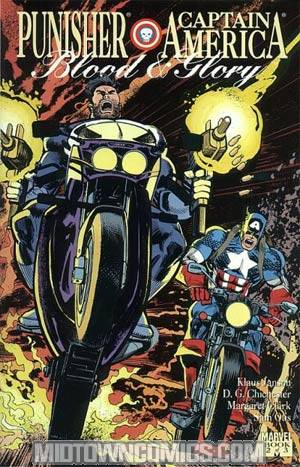 Punisher Captain America Blood And Glory #2