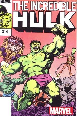 Incredible Hulk #314 Cover B Toy Reprint