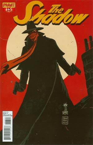 Shadow Vol 5 #13 Regular Francesco Francavilla Cover