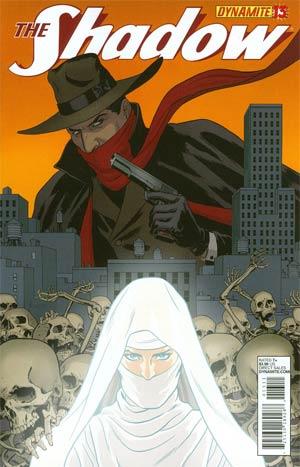 Shadow Vol 5 #13 Regular Paolo Rivera Cover