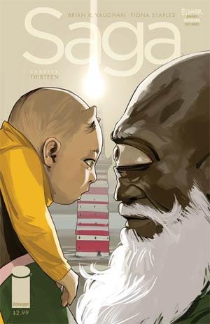 Saga #13 Cover A 1st Ptg