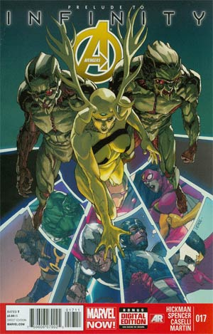 Avengers Vol 5 #17 Cover A (Infinity Prelude)
