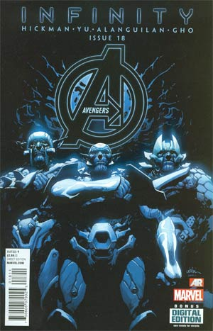Avengers Vol 5 #18 Cover A Regular Leinil Francis Yu Cover (Infinity Tie-In)