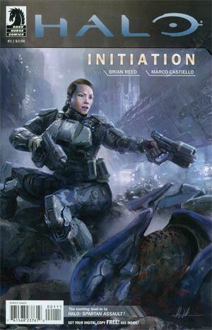 Halo Initiation #1 Cover A Regular John Liberto Cover