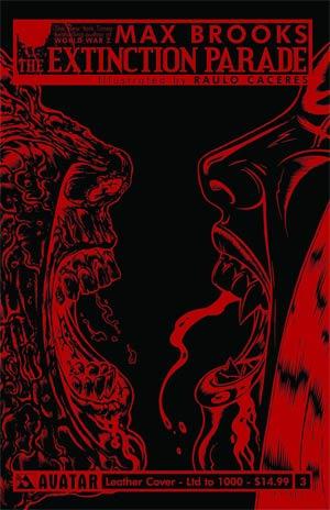 Extinction Parade #3 Cover E Leather Cover