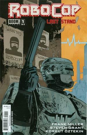 Robocop (Frank Miller) Last Stand #1 Cover A Regular Declan Shalvey Cover