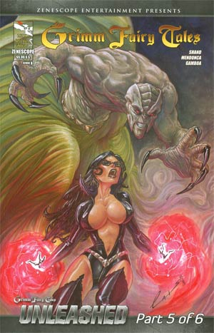 Grimm Fairy Tales 2013 Special Edition Cover B Emilio Laiso (Unleashed Part 5)