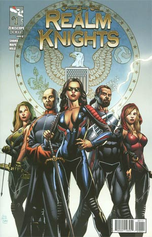 Grimm Fairy Tales Presents Realm Knights #1 Cover A Anthony Spay Team