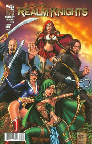 Grimm Fairy Tales Presents Realm Knights #1 Cover D Alfredo Reyes