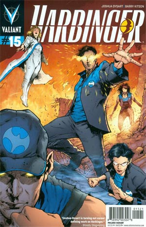 Harbinger Vol 2 #15 Cover B Variant Trevor Hairsine Pullbox Cover (Harbinger Wars Epilogue)