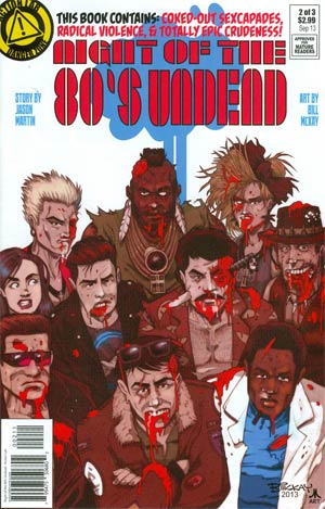 Night Of The 80s Undead #2