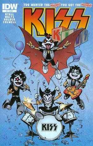 KISS Kids #1 Cover A Regular Jose Holder Cover