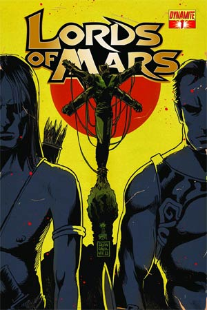 Lords Of Mars #1 Cover B Variant Francesco Francavilla Cover
