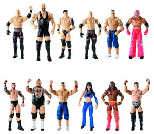 WWE Basic Action Figure Assortment Case