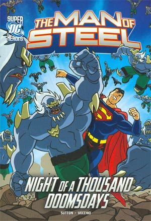 DC Super Heroes Man Of Steel Night Of A Thousand Doomsdays TP