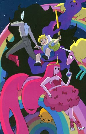Adventure Time Annual #1 Incentive Natasha Allegri Virgin Variant Cover
