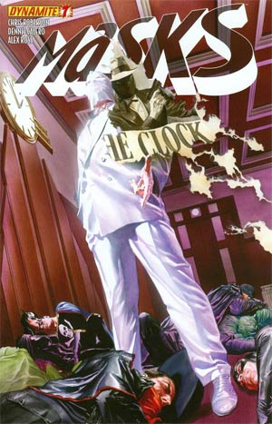 Masks #7 Regular Alex Ross Cover