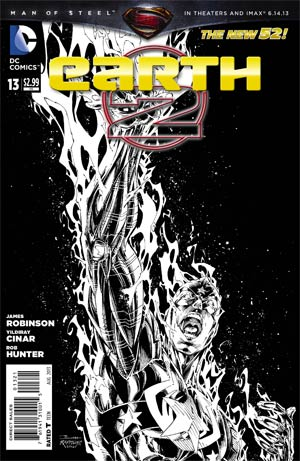 Earth 2 #13 Cover B Incentive Brett Booth Sketch Cover