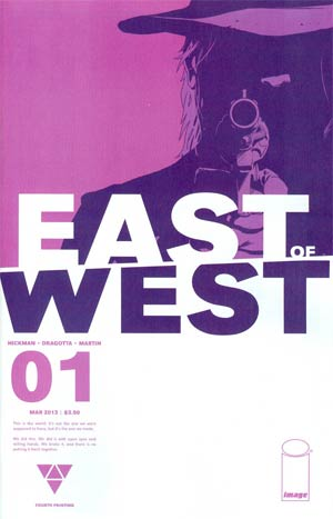 East Of West #1 Cover D 4th Ptg