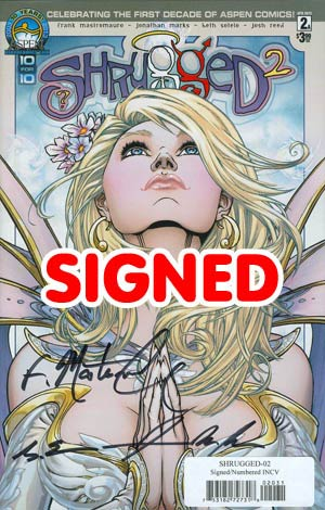Shrugged Vol 2 #2 Cover D Incentive Direct Market Cover Signed & Numbered Edition