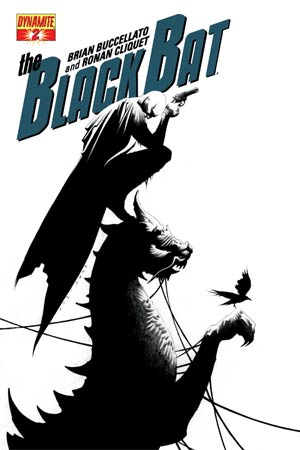 Black Bat #2 Cover F Incentive Jae Lee Black & White Cover