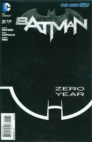 Batman Vol 2 #21 Cover E Incentive Greg Capullo Sketch Cover (Batman Zero Year Tie-In)