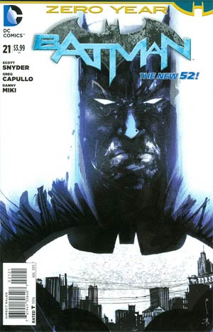 Batman Vol 2 #21 Cover D Incentive Jock Variant Cover (Batman Zero Year Tie-In)
