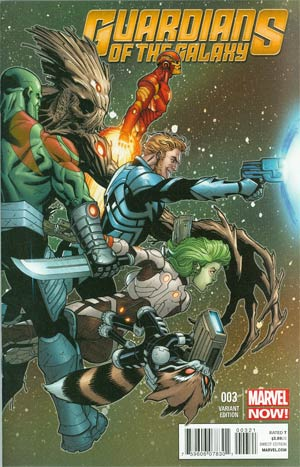 Guardians Of The Galaxy Vol 3 #3 Cover B Incentive Ed McGuinness Variant Cover