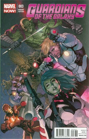 Guardians Of The Galaxy Vol 3 #3 Cover C Incentive Leinil Francis Yu Variant Cover