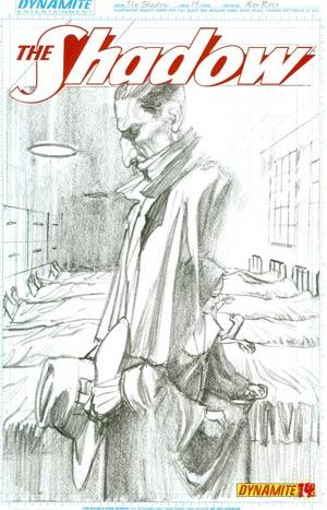 Shadow Vol 5 #14 Cover F Incentive Alex Ross Sketch Cover