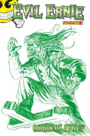 Evil Ernie Vol 3 #6 Cover I High-End Ardian Syaf Chaotic Green Ultra-Limited Cover (ONLY 25 COPIES IN EXISTENCE!)