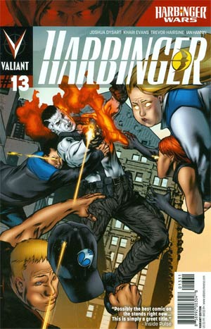 Harbinger Vol 2 #13 Cover C Incentive Khari Evans Variant Cover (Harbinger Wars Tie-In)