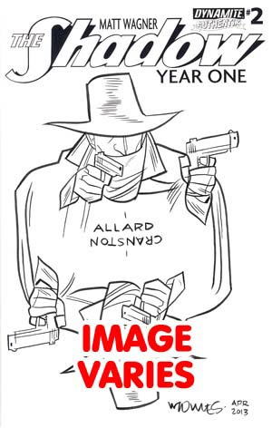 Shadow Year One #2 Cover I Incentive Wilfredo Torres Hand-Drawn Original Sketch Cover