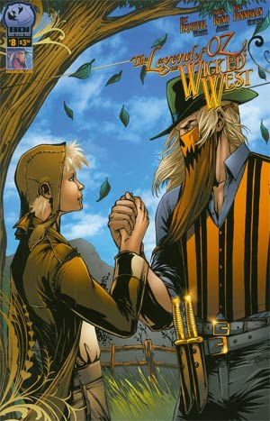 Legend Of Oz The Wicked West Vol 2 #8 Cover A Carlos Reno