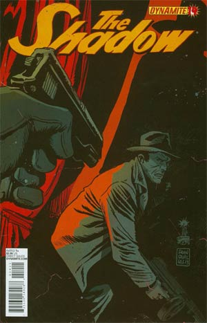Shadow Vol 5 #14 Cover D Regular Francesco Francavilla Cover