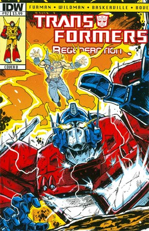 Transformers Regeneration One #92 Cover B Regular Guido Guidi Cover