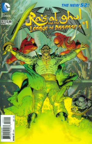 Batman And Robin Vol 2 #23.3 Ras Al Ghul And The League Of Assassins Cover A 1st Ptg 3D Motion Cover