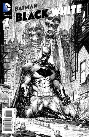 Batman Black & White Vol 2 #1 Cover A Regular Marc Silvestri Cover