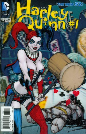 Detective Comics Vol 2 #23.2 Harley Quinn Cover A 1st Ptg 3D Motion Cover