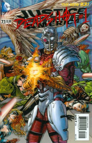 Justice League Of America Vol 3 #7.1 Deadshot Cover A 1st Ptg 3D Motion Cover