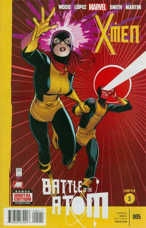 X-Men Vol 4 #5 Cover A 1st Ptg Regular Arthur Adams Cover (Battle Of The Atom Part 3)