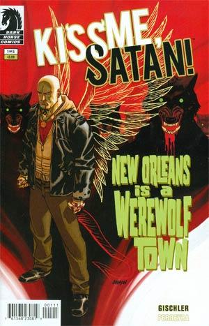 Kiss Me Satan #1 Cover A Regular Dave Johnson Cover