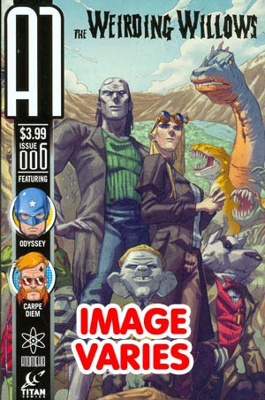 DO NOT USE (DUPLICATE LISTING) A1 Vol 2 #6 (Filled Randomly With 1 Of 3 Covers)