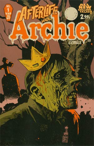 Afterlife With Archie #1 Cover B Variant Francesco Francavilla Cover